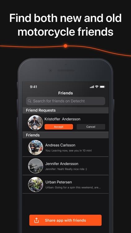 Detecht - Motorcycle App & GPS screenshot-7