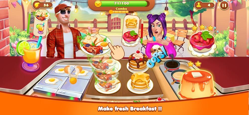 Crazy Kitchen Cooking Games