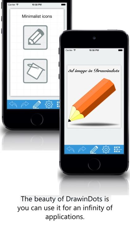 DrawinDots Lite screenshot-3