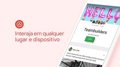 Screenshot for Google+ para G Suite in Brazil App Store