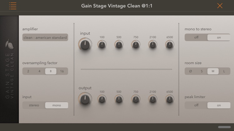 Gain Stage Vintage Clean