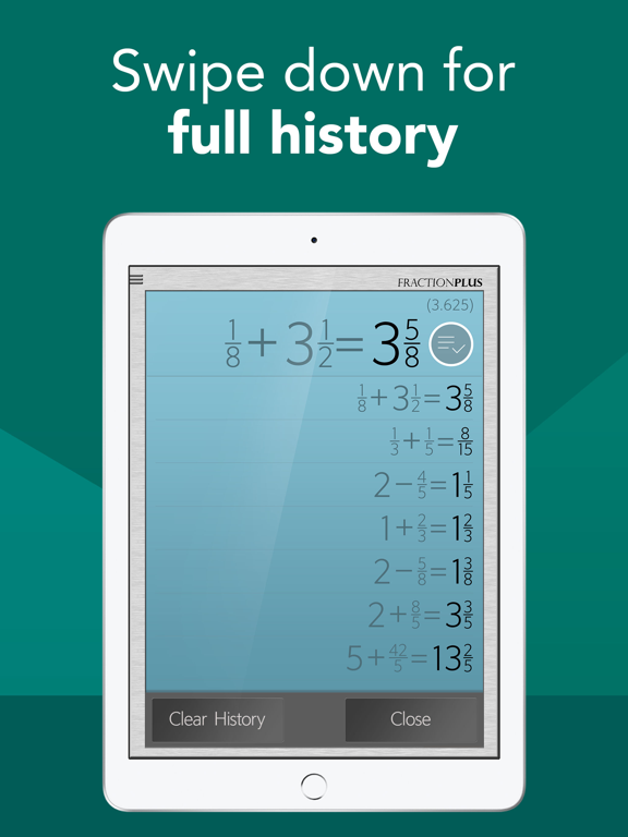 Fraction Calculator Plus Free screenshot