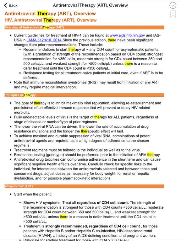 Sanford Guide - HIV/AIDSのおすすめ画像4