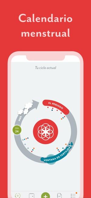 Aplicacion Calendario Menstrual.Clue Calendario Menstrual En App Store