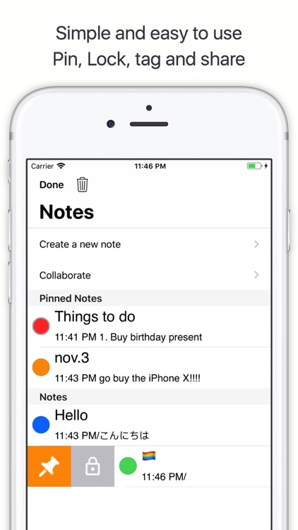 NoteBook -Create and Share
