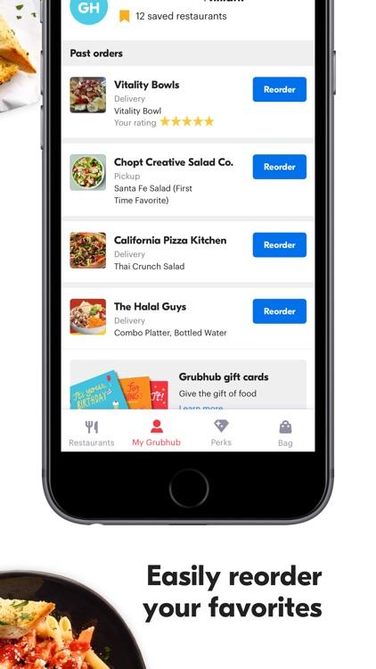 Grubhub: Local Food Delivery screenshot-5