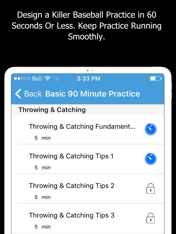 Baseball Blueprint - Drills, Practice Planner, Strategies and Diagram Tool for Coaches screenshot