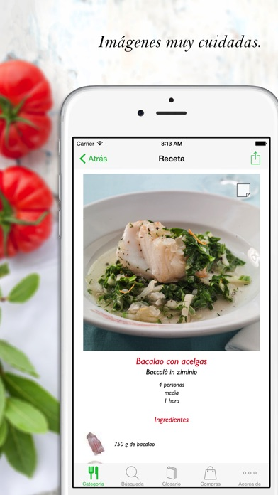 Screenshot for Cocina italiana HQ in Ecuador App Store