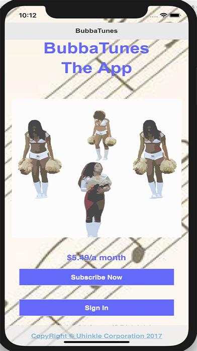 BUBBATUNES screenshot 1