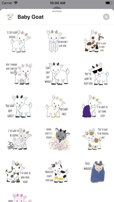 Baby-Goat screenshot 1