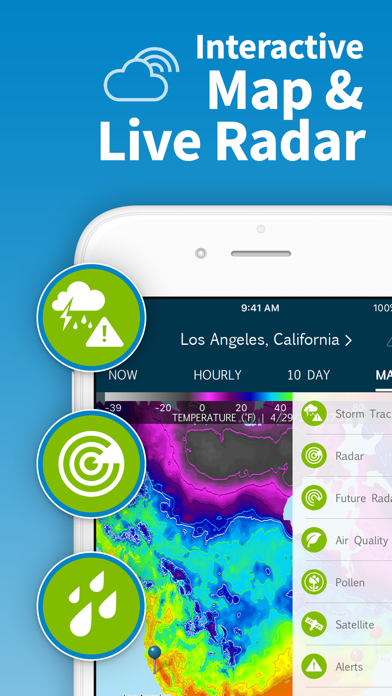 WeatherBug - Radar, Forecast screenshot three