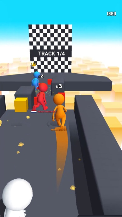 Human Runner 3D Screenshot 2
