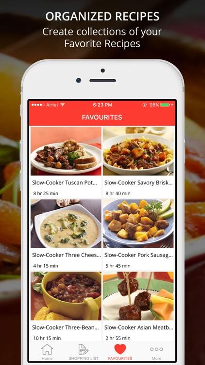Healthy CrockPot Recipes screenshot-3