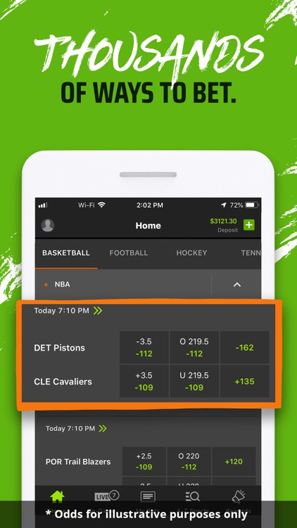 DraftKings Sportsbook & Casino screenshot-3