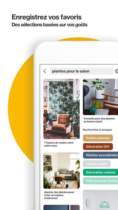 Screenshot #3 pour Pinterest: Idées & Inspiration