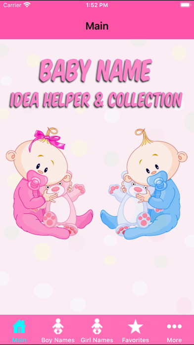 Baby Names Helper Collection review screenshots