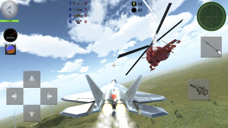 Fighter 3D Lite - Air Combat screenshot-6