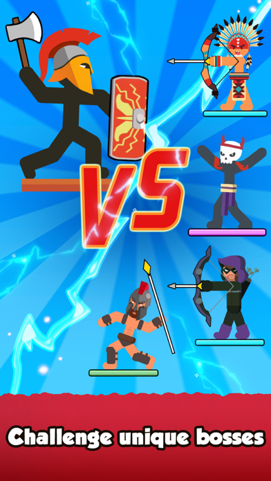 The Warrior - Top Stickman
