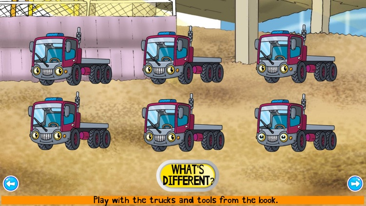 Construction Truck Games ABC screenshot-5