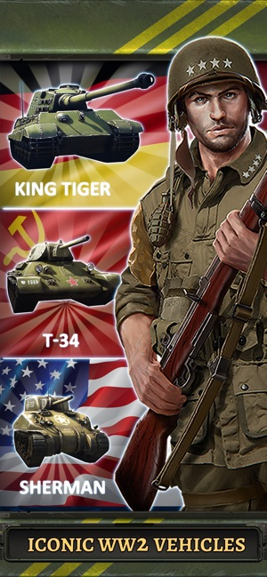 bad761b4748 World at War  WW2 Strategy MMO on the App Store