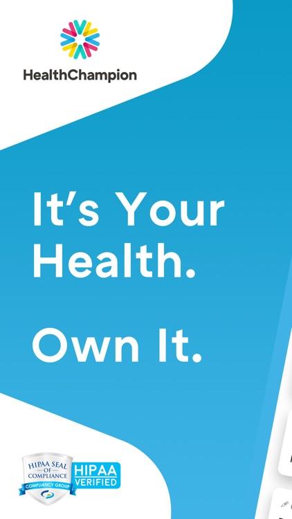 HealthChampion – Health Guide screenshot-0