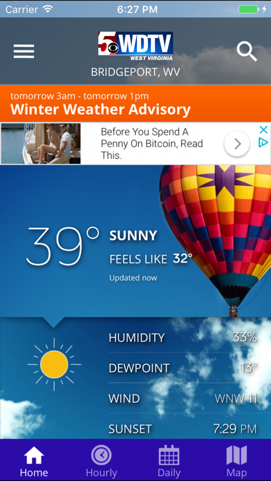 WDTV 5 First Alert Weather by Gray Television Group, Inc