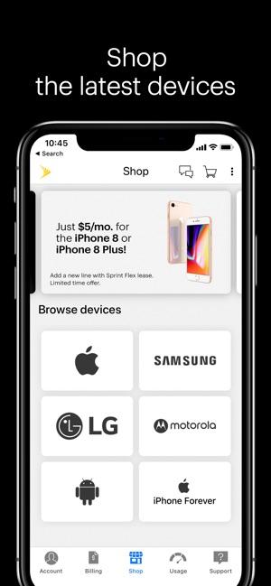 My Sprint Mobile dans l'App Store