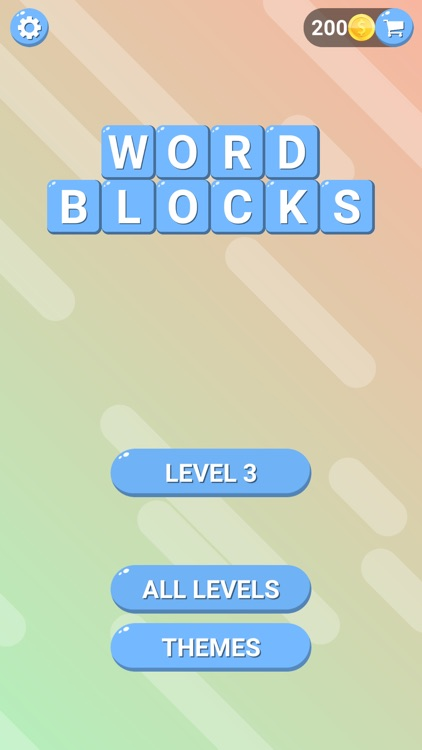 Word Blocks: Stack Word Puzzle screenshot-3