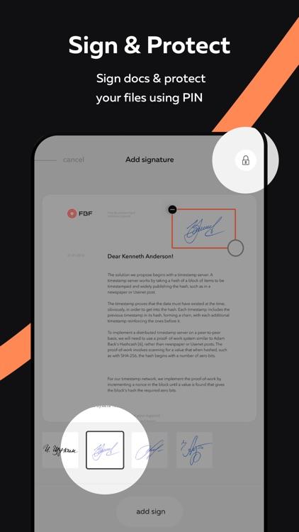 ScanFax: Doc Scanner & Fax Pro screenshot-4