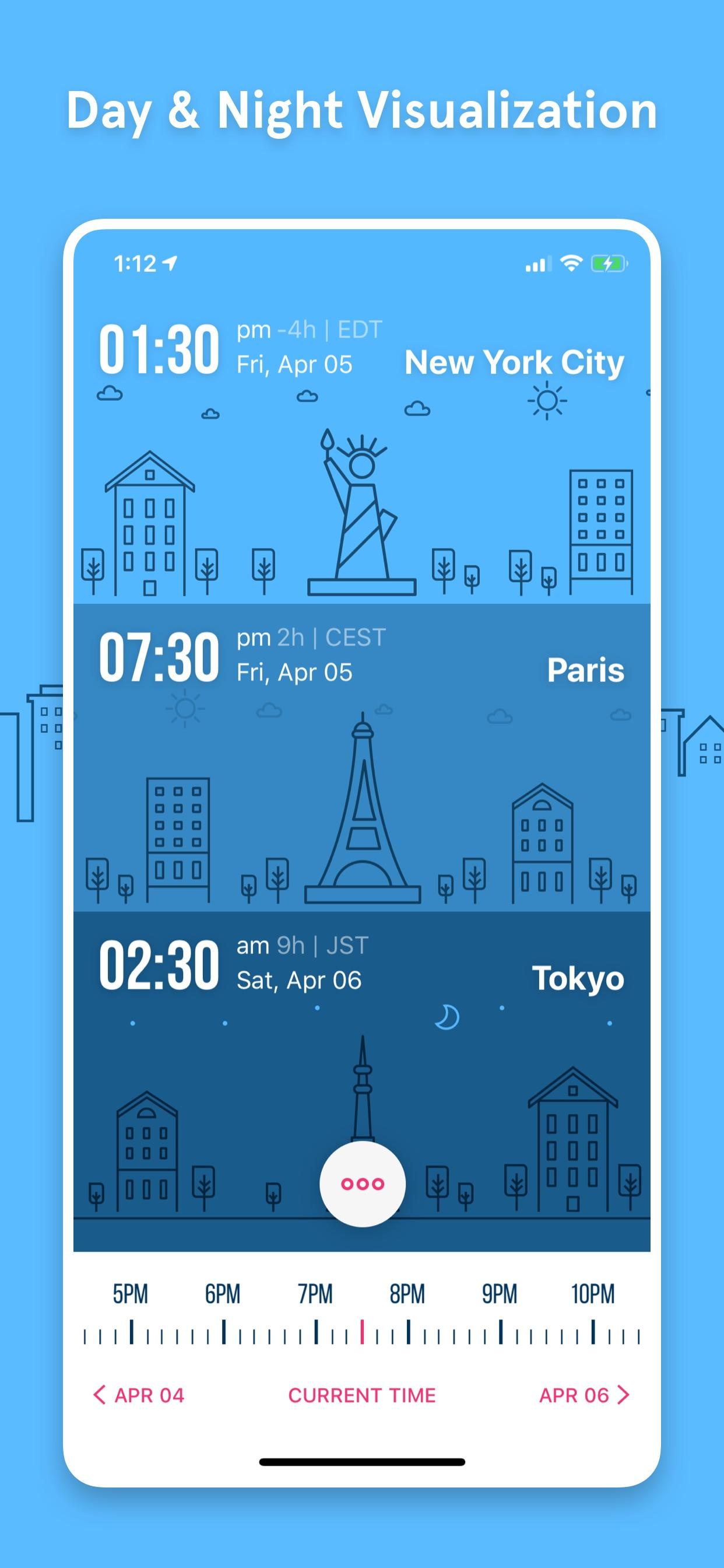 Day & Night Visualization