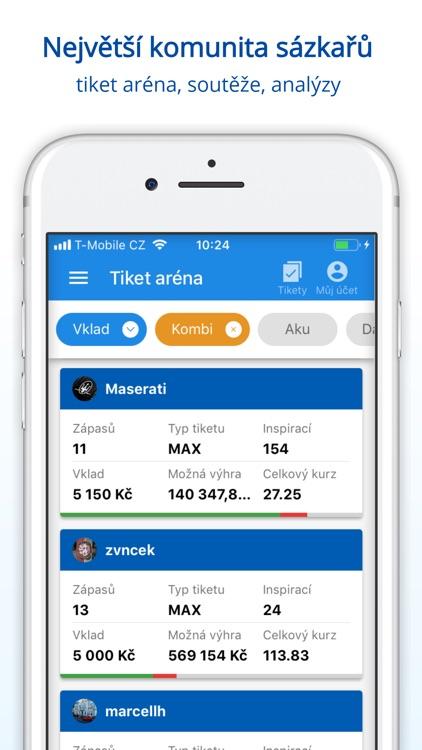 Tipsport CZ screenshot-3