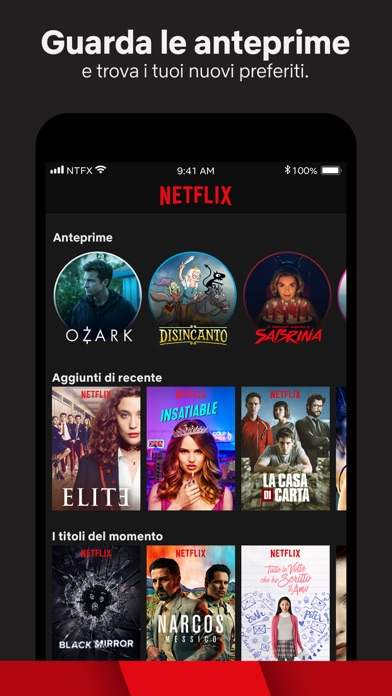 Screenshot for Netflix in Italy App Store