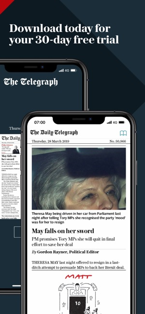 e7f153f53620 Telegraph Newspaper Edition UK on the App Store