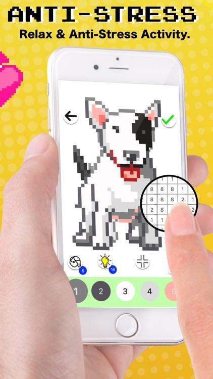 Pixel Art - Coloring by number screenshot-3