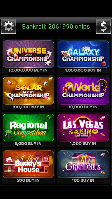 Offline Poker - Texas Holdem screenshot two