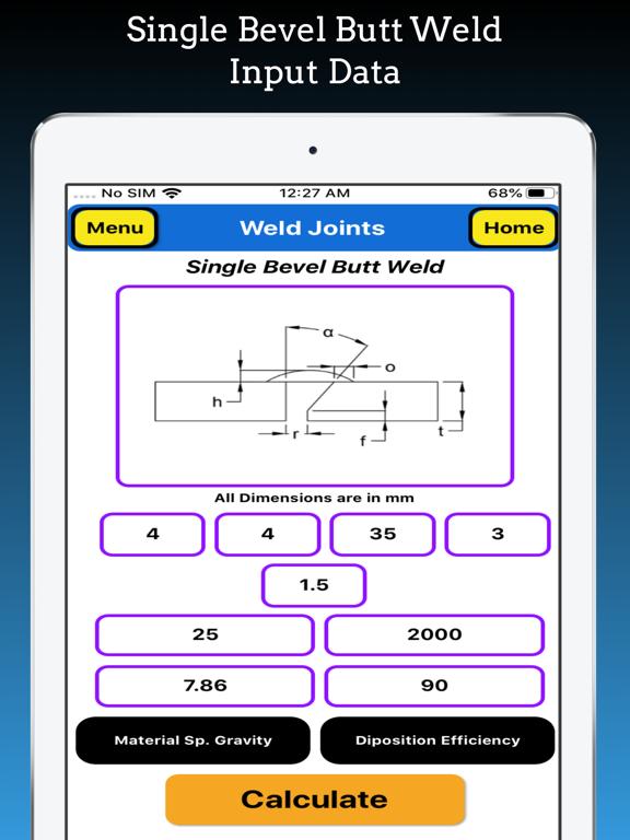 Welding Weight Calculator screenshot 17