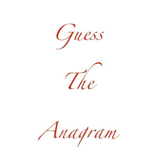 Guess The Anagram