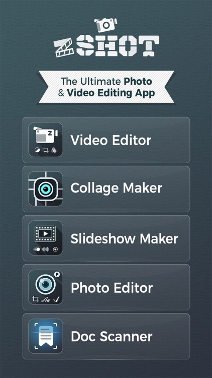 zShot Video Editor & Maker