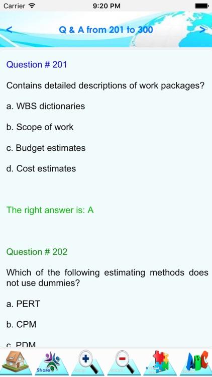 Project Management Exam Quiz