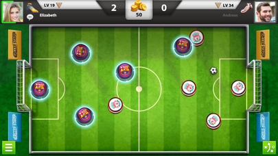 Screenshot from Soccer Stars: Football Kick