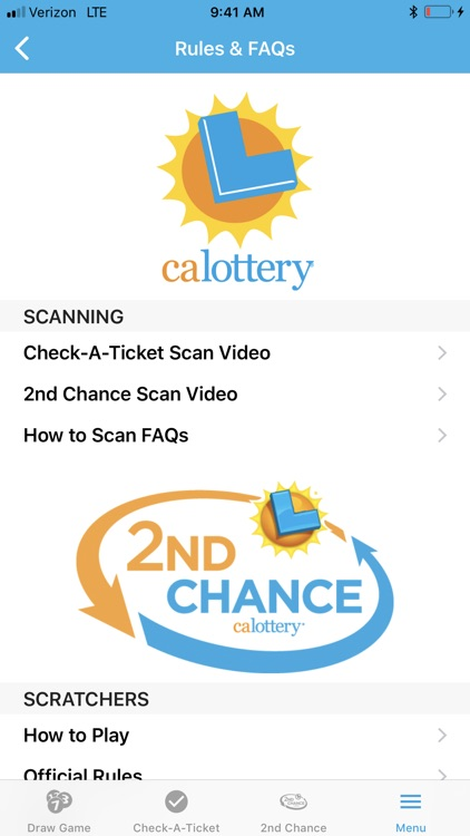 CA Lottery Official App screenshot-9