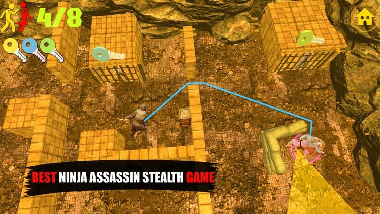 Ninja Assassin Knife Killer screenshot-5