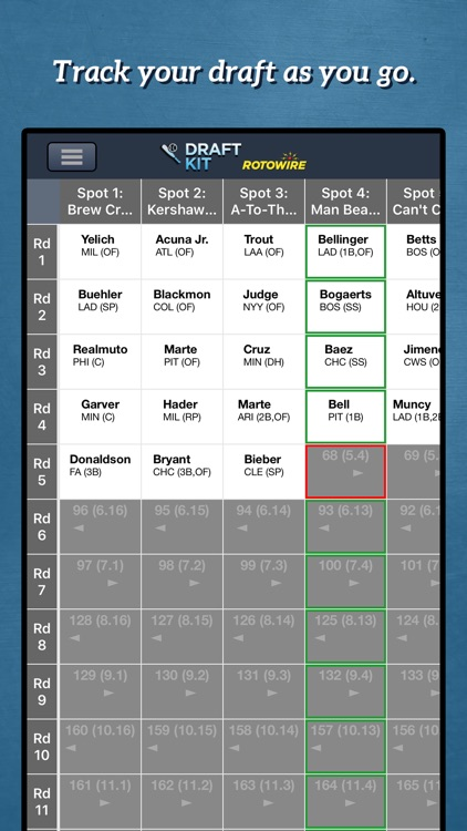 Fantasy Baseball Draft Kit '20 screenshot-4