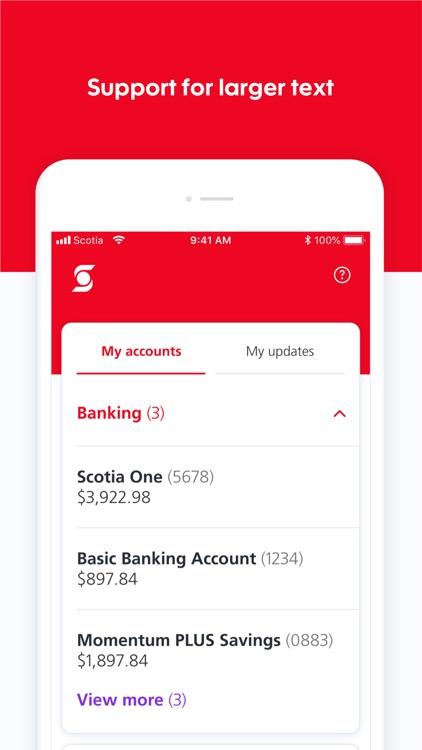 Scotiabank screenshot-7