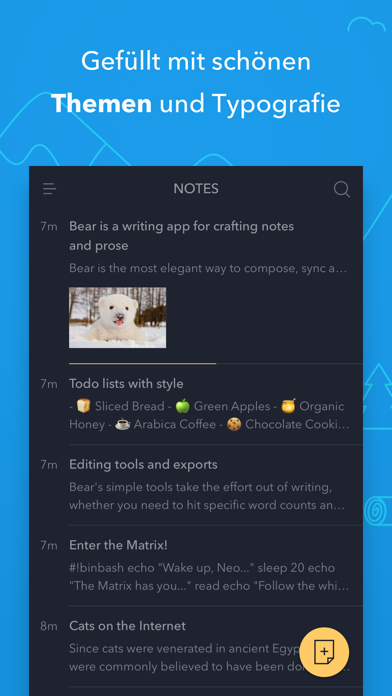 Bear - Private NotizenScreenshot von 5