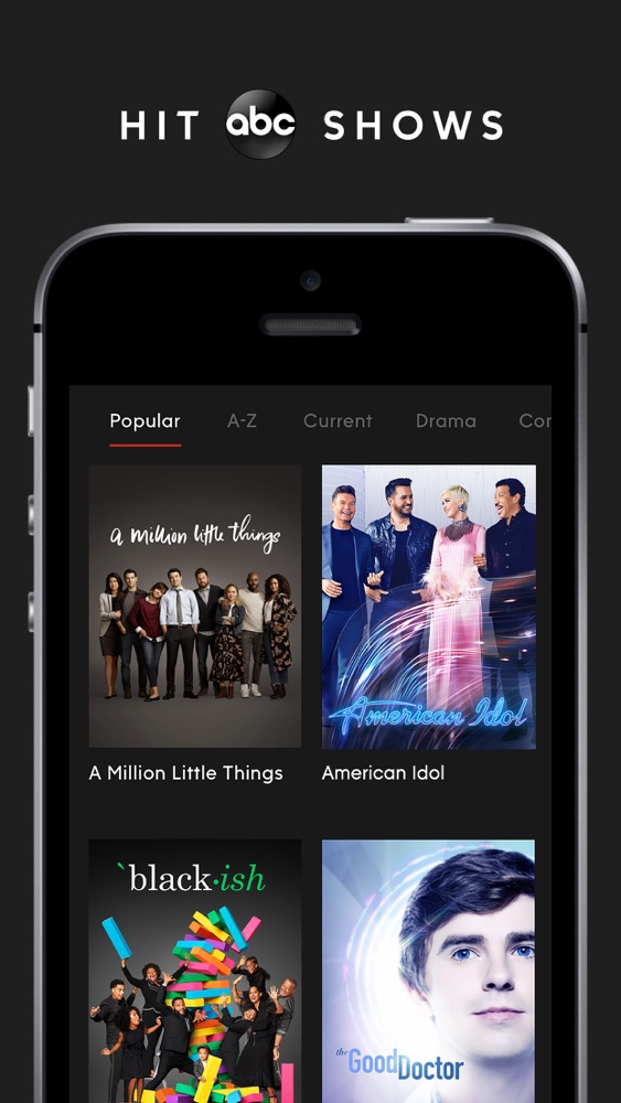 ABC – Live TV & Full Episodes App for iPhone - Free Download
