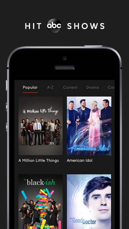 ABC – Live TV & Full Episodes screenshot-0