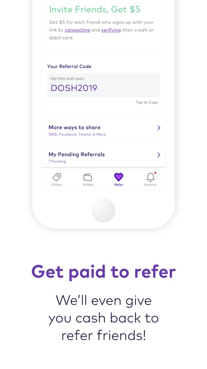 Dosh: Automatic Cash Back App screenshot-5