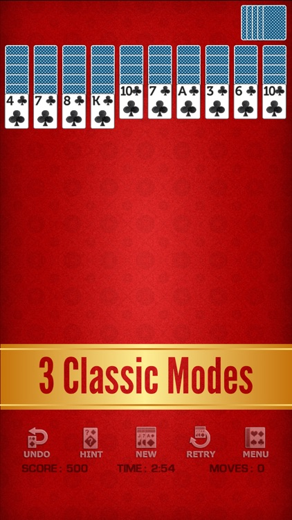 Spider Solitaire Classic ◆ screenshot-7