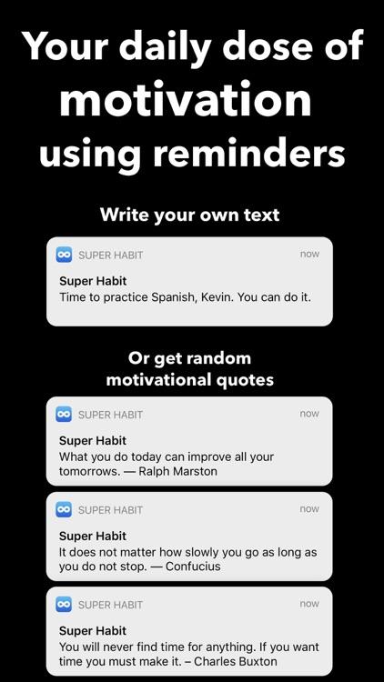 Habit Tracker ++ screenshot-3